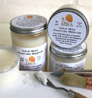 cold wax painting medium